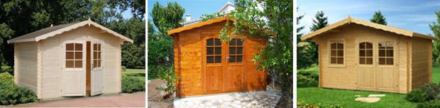 individuelle h user f r garten bungalow aus holz zum wohnen. Black Bedroom Furniture Sets. Home Design Ideas